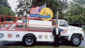 Saratoga County Veterans Float