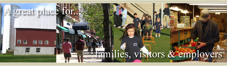A great place for... families, visitors & employers.