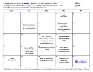 Employment and Training – Saratoga County New York